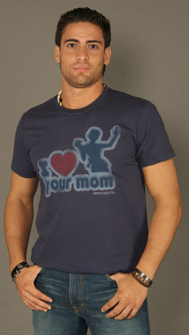 David & Goliath I Love Your Mom Tee