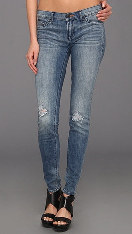 Dittos Jessica Low Rise Denim Jegging in Lost Bikini