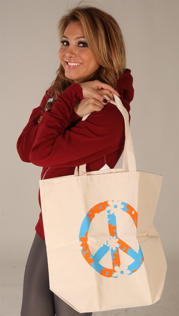 Dogeared Peace Tote