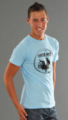 ENC Rock Out Tee in Blue