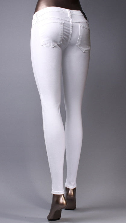 Flying Monkey Skinny Jeans in White