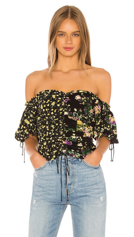 For Love & Lemons Eileen Off The Shoulder Top