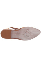 Free People Wanderlust Flats Natural Braided Leather Shoes I ShopAA