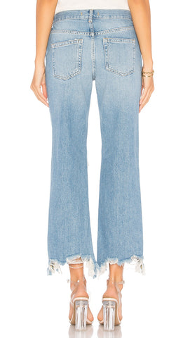 Free People Maggie Mid Rise Straight Leg | ShopAA