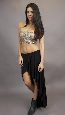 Gypsy Junkie Studio Skirt in Black