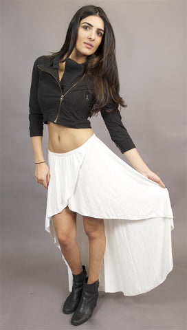 Gypsy Junkie Studio Skirt in Cream