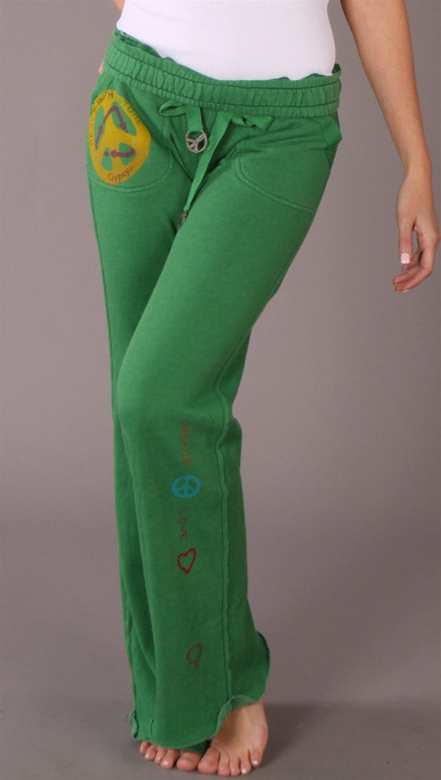 Gypsy 05 Riley Simple Sweatpants Green