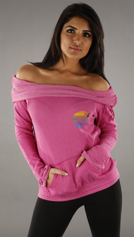 Gypsy 05 Shelly Sweatshirt in Fuchsia