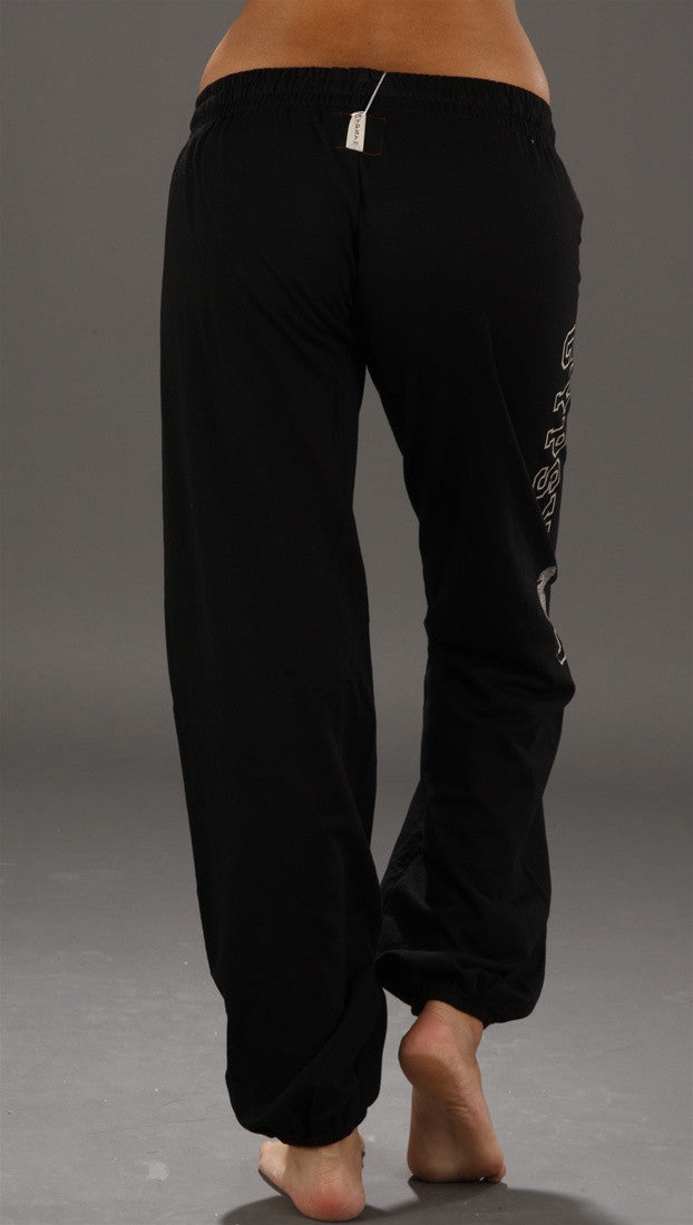 Gypsy 05 City Love Fleece Pants in Black