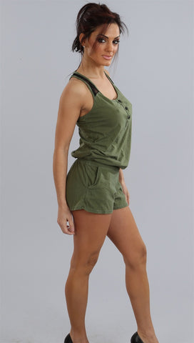 Gypsy 05 Gazelle Lace Racer Jumper in Olive
