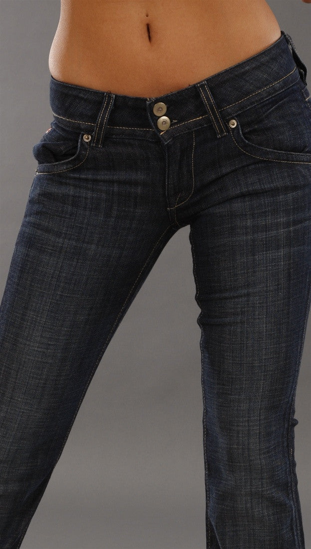 Hudson Signature Boot Cut Denim in Peg
