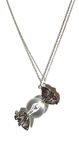 ShopAA Jewelry I Want Candy Necklace in Silver