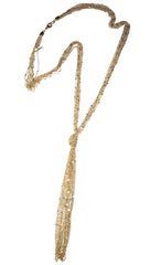 ShopAA Jewelry Gold Knot Chain Necklace