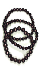 Apparel Addiction Bead Bracelet Brown