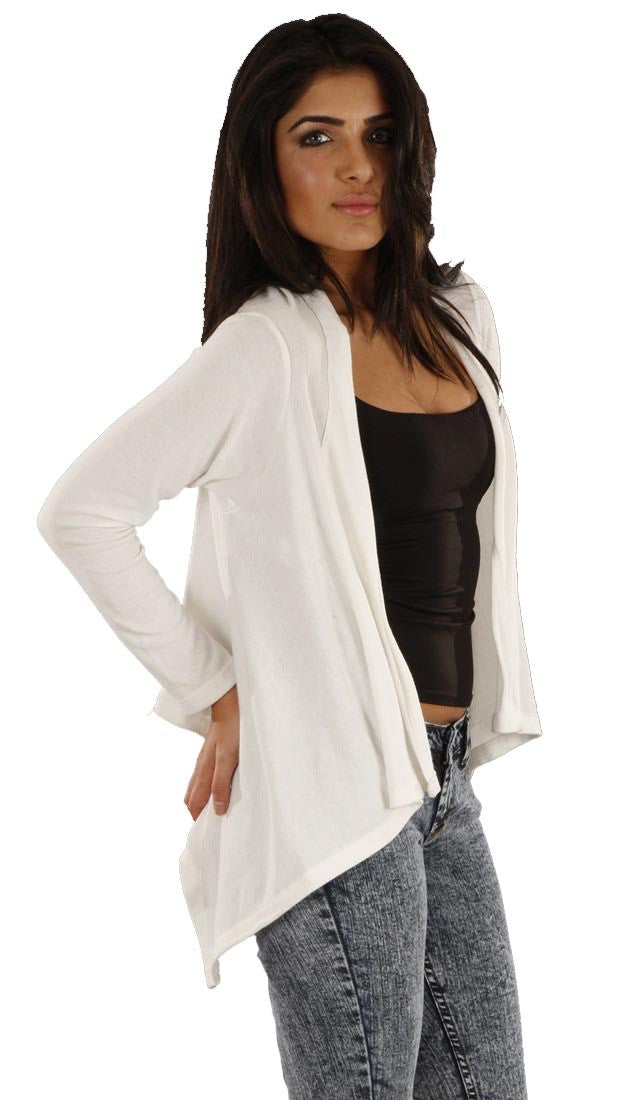Jet John Eshaya Cropped Cardigan in Cream