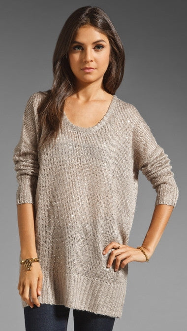 John & Jenn by Line Reuben Sequin Sweater Dress