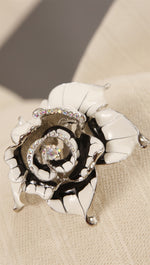 Jessyka Robyn Flower Ring in White