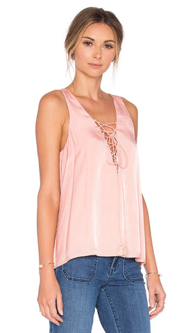the lotus tank from the jetset diaries pink blush