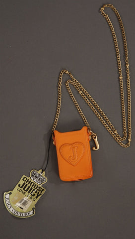 Juicy Couture Large Ipod Case in Orange