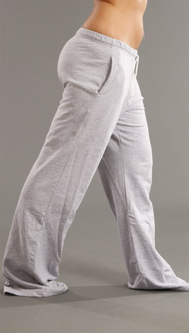 Kinkate Slim Fit Sweat Pants in Grey