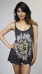 Lauren Moshi Alyssa Spaghetti Tank in Black