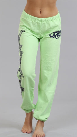Lauren Moshi Erin LMV Ape Pants in Cabbage