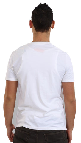 Local Celebrity Mens Comb Over To The Wild Side Tee Shirt White
