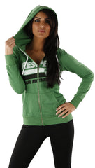 Local Celebrity Respect Your Mother Hoodie in Green