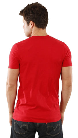 Local Celebrity Mens Give Blood Crew Neck Tee Shirt Red