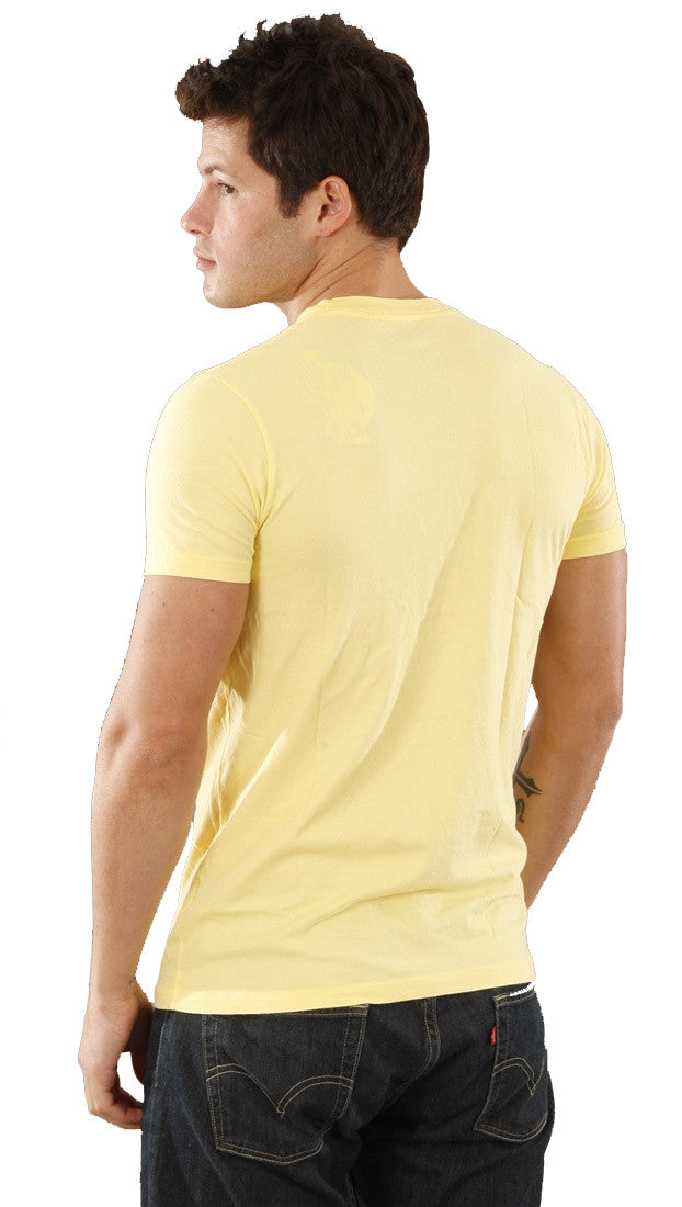 Local Celebrity Mens Drugs Are Bad Crew Neck Tee Shirt Yellow