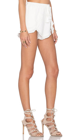 Lovers + Friends Serene Shorts in White