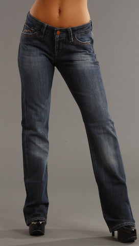 Mavi Oliva Dark Wash Denim Pant