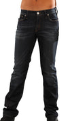 Meltin Pot Mens Marvin Broken Twill Slim Jean in UB100