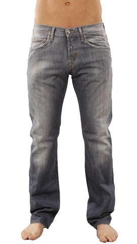 Meltin Pot Mens Morgan Grey Cast Regular Fit Jean in UD275