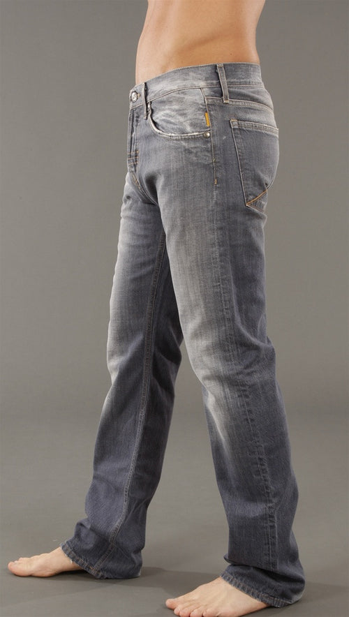 Meltin Pot Morgan Grey Cast Regular Fit Jean in UD275