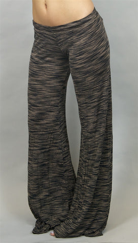 Michael Lauren Lewis Wide Leg Pant in Latte
