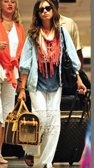 Michelle Jonas Long Hippie Pants in White