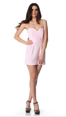 Naven Heart Throb Dress in Ice Pink