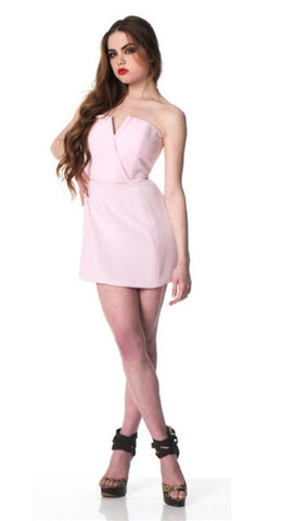 Naven Bombshell Dress in Ice Pink