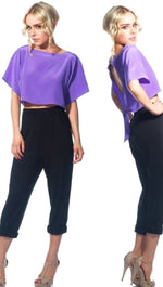 Naven Twisted Top Purple