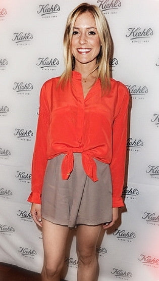 Naven Monroe Shorts in Tan <P>As Seen on Kristin Cavallari