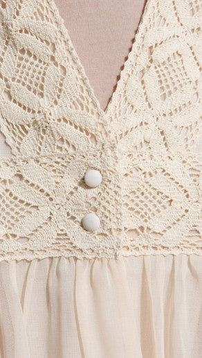 One Teaspoon Savannah Sweater in Nude
