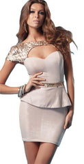 Pascucci Day Break Dress in Dusty Pink Melissa Gorga