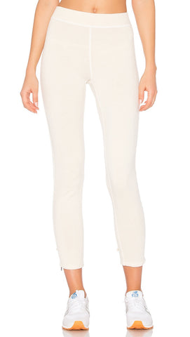 n:Philanthropy Reiko Lace Up Back Skinny Sweats White Magic
