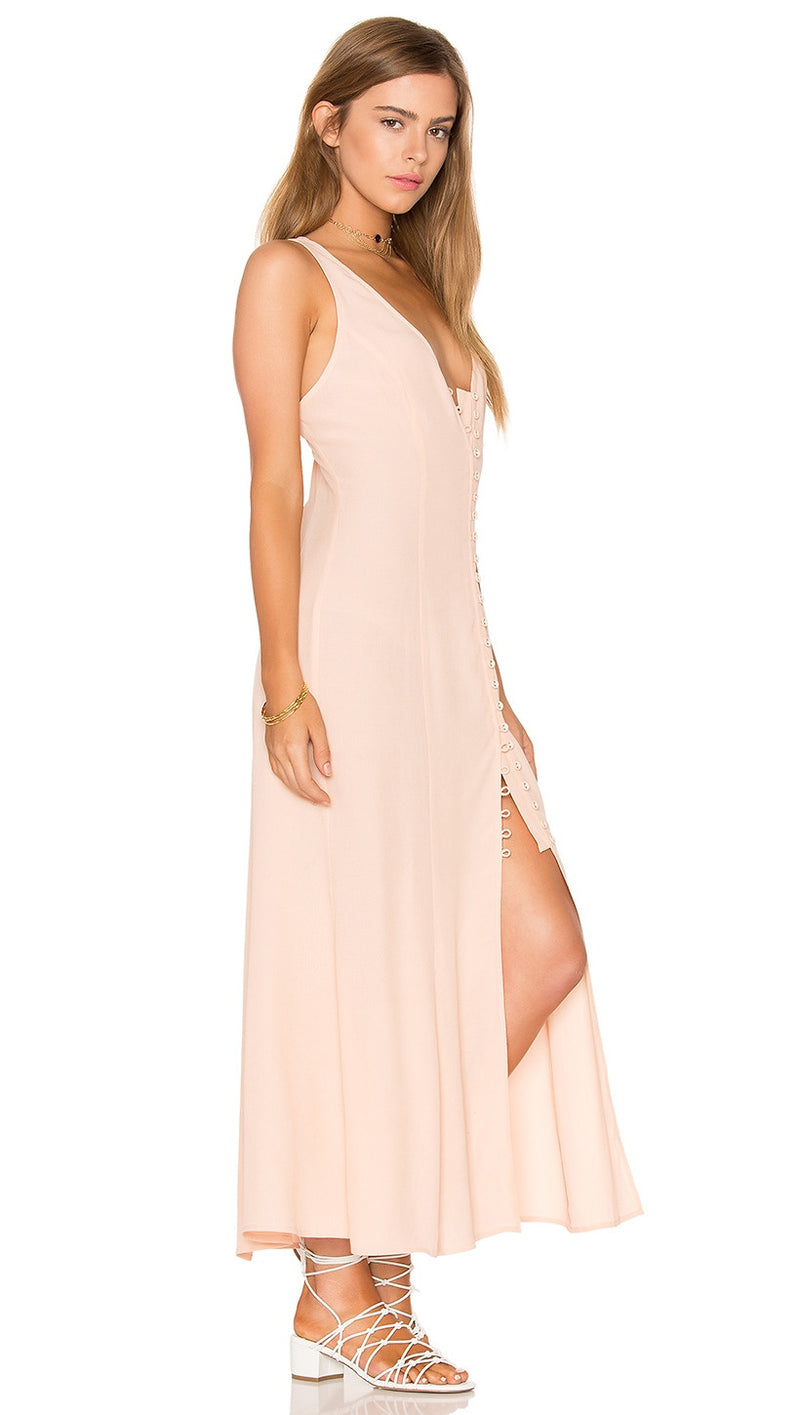 Privacy Please Lomax Dress Blush