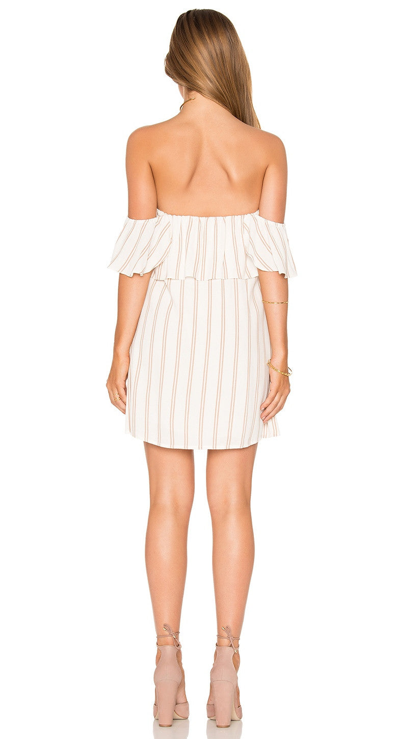 Privacy Please Norval Dress Creme Swim Cover Up