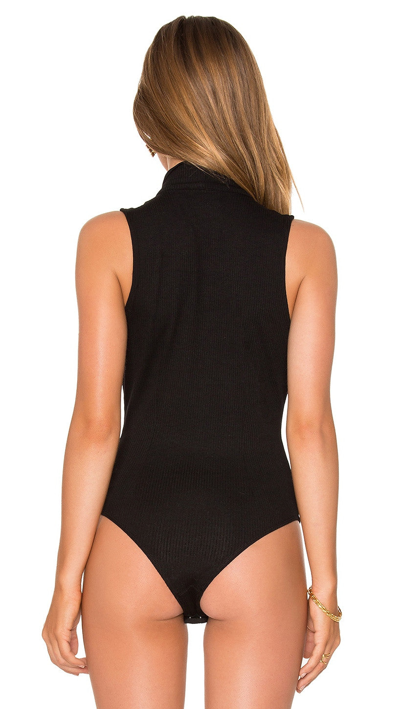 Privacy Please Noni Bodysuit Black