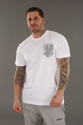 Rawyalty Rock On Tee in White