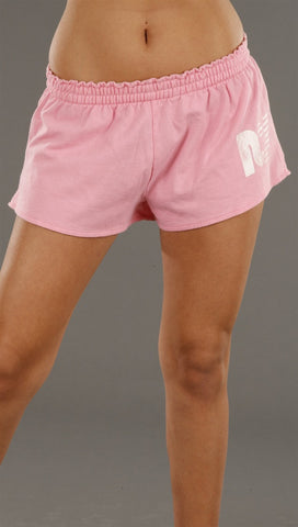 Rebel Yell No Diggity Booty Shorts in Pink