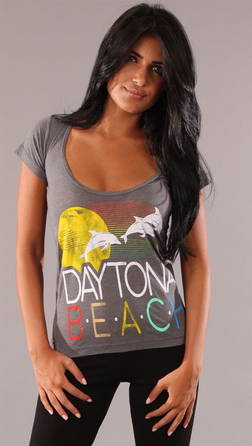 Rebel Yell Daytona Storm Tee